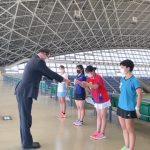 女子テニス部【三重県高等学校新人大会団体戦7位】