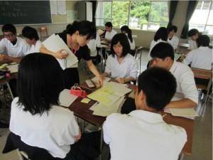 中北先生の看護学のグループ学習