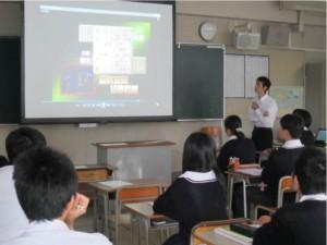 中西准教授の教育学の講義