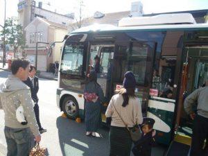 バスの乗車体験2