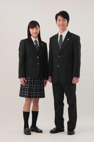 川越高等学校制服画像