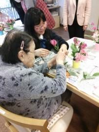 14 ボランティア活動 グループホームにて(2015.3.17)