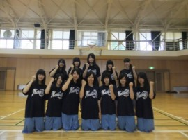 女子バスケットボール部