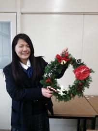 13 クリスマスリース完成(2014.12.12)