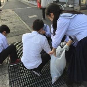 学校か環境デー